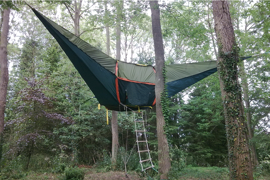 The ... & UFO.GEAR // TENTSILE :: Portable Treehouse | Unified Funk Option